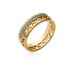 Western - Gold-Plated Ring