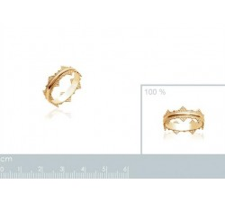 Crown - Gold-Plated Ring-alt