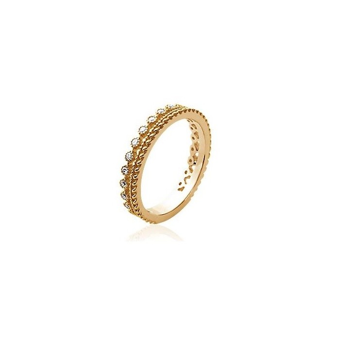 2 in 1 Alliance - Gold-Plated Ring