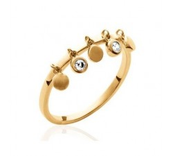 Moving Medals - Gold-Plated Ring