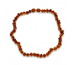 Baby - Cognac Amber - Teething Necklace - Natalex