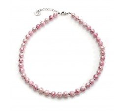 Perleadi - Pink - Necklace - Antica Murrina