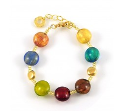 Frida - Multicolored - Bracelet - Antica Murrina