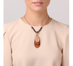 Gavroche - 3 Element Necklace - Nature Bijoux-alt