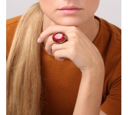 Socotra - Red Ring - Nature Bijoux-alt