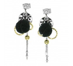 Agnes - Ball Earrings - Franck Herval
