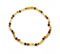 Baby - Multi Amber - Teething Necklace - Natalex