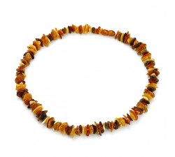 Shavings - Multicolored Amber - Necklace - Natalex