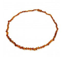 Beads - Amber - Necklace - Natalex