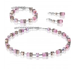 4016 Light Pink - Necklace Cœur de Lion-alt