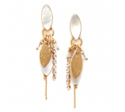 Anna - Pendant Earrings - Franck Herval