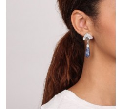 Cyclades - Small Drop Earrings - Nature Bijoux-alt
