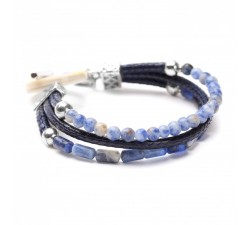 Cyclades - 3 Row Bracelet - Nature Bijoux