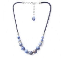 Cyclades - Blue Pearl Necklace - Nature Bijoux