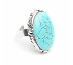 Anay - Turquoise Ring - Nature Bijoux