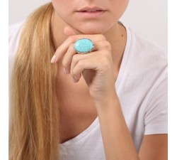 Anay - Turquoise Ring - Nature Bijoux-alt