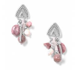 Les Grappes - Pink Earrings - Nature Bijoux
