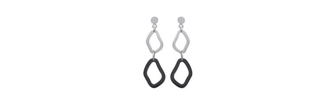 Women's stainless steel earrings - Azuline Canada