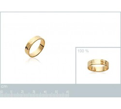 Hammered - Gold-Plated Ring-alt