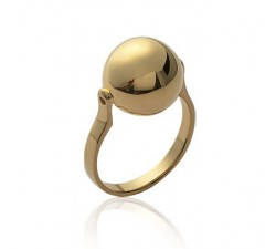 Ball - Gold-Plated Ring
