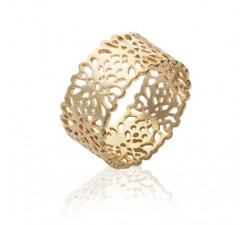 Flower - Gold-Plated Ring