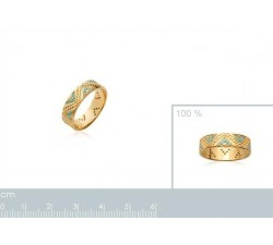 Inca - Gold-Plated Ring-alt