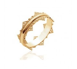 Crown - Gold-Plated Ring