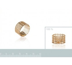 Chain Rows - Gold-Plated Ring-alt