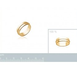 Beads Large - Gold-Plated Ring-alt